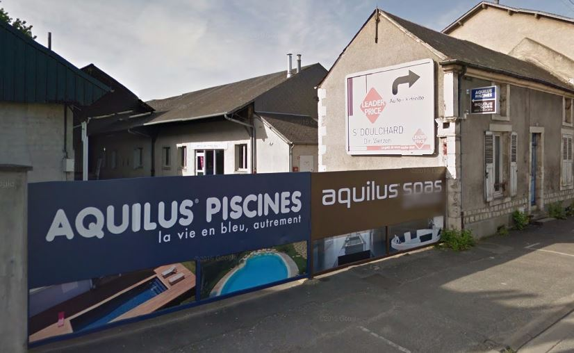 Espace showroom aquilus piscines et spas aquilus bourges for Piscine saint doulchard